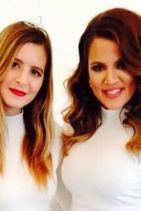 Jennifer Stith with Khloe Kardashian