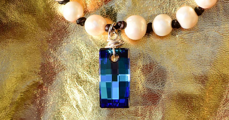 Swarovski Pearl Tab Necklace_2