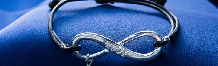 Julie Miles Infinity LOVE Bracelet